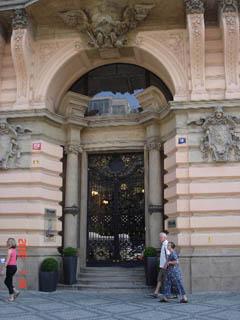 Фотография из раздела - красивые двери, ворота и просто проходы: Чехия, Прага.